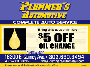 $5 OFF Oil Change